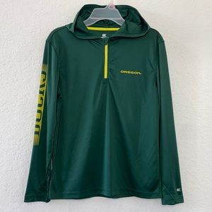 Girls Youth Oregon Ducks Hoodie Size L